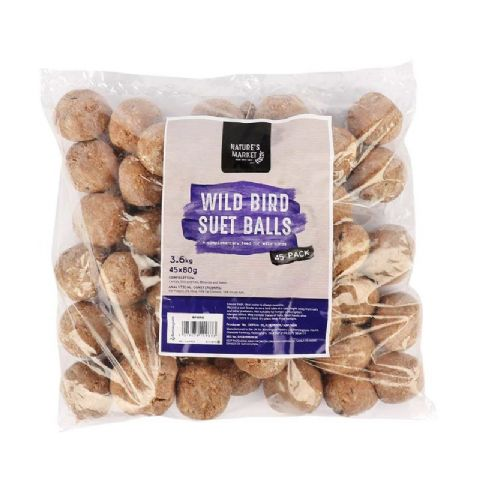 Suet Fat Balls For Wild Bird Feeders (Pack of 45)